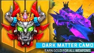 DARK MATTER & PRESTIGE MASTER! Black Ops 4 Max Rank, Tips & Tricks, Challenges and More!