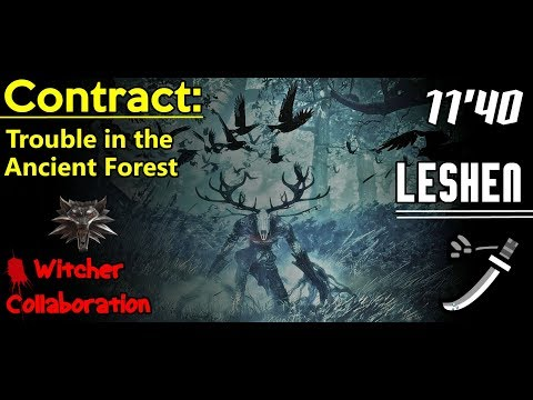 MHWorld - Witcher Collab: LESHEN | Solo [11'40] Longsword thumbnail