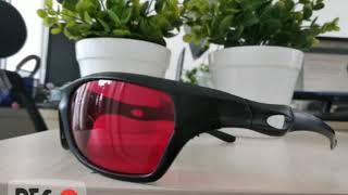 kacamata sport 3d Merah biru 3D Glasses Plastic Frame Film 4D Movie HD
