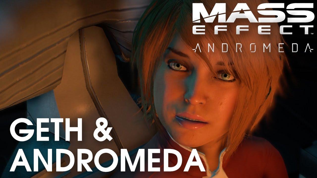 Mass Effect Andromeda: Geth tech found Andromeda