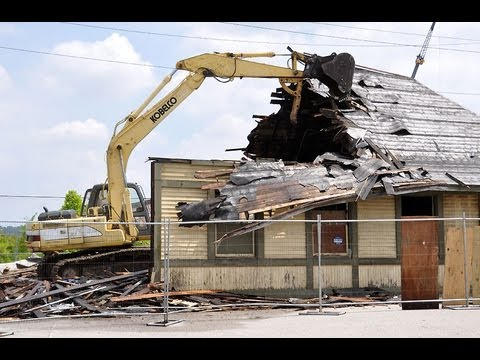 Oakley Ohio Train Station Demolition