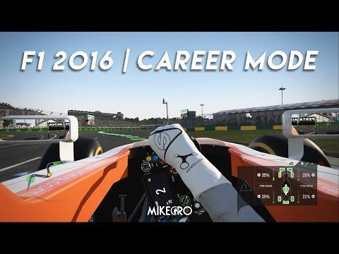 Menjadi Pembalap Profesional | F1 2016 Career Mode episode 1
