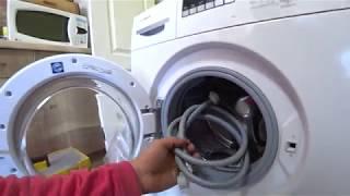 Як правильно встановити пральну машинку Розпакування нової