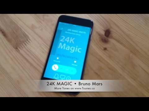 24K Magic Ringtone (Bruno Mars Tribute Remix Ringtone) • IPhone & Android Direct Download