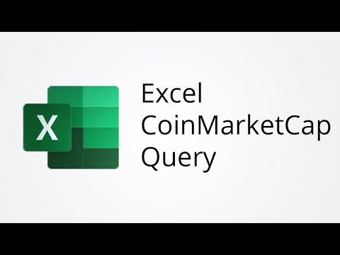Excel Import CoinMarketCap API Data With Query
