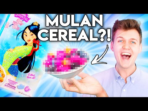 Trying Weird Cereals You Never Knew About! (with a BIG twist...)