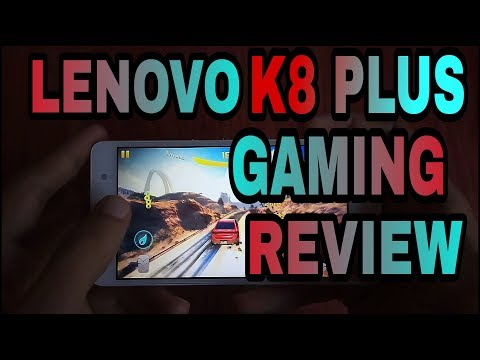 LENOVO K8 PLUS GAMING REVIEW IN DETAIL [HINDI]