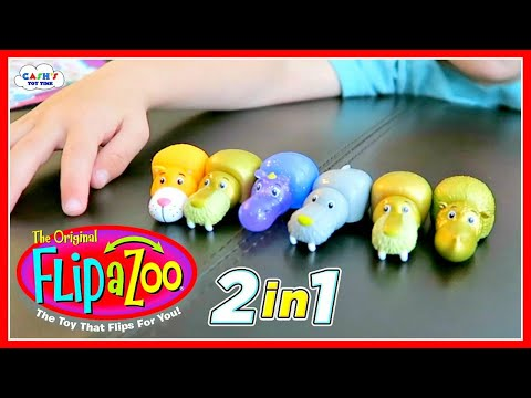 Flip A Zoo Blind Bag Surprise Animal Toys Youtube