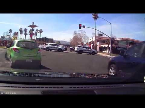 2017.03.17 San Jose Police on Stevens Creek Blvd x Lawrence Expwy