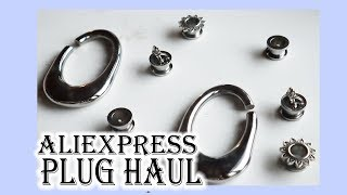 AliExpress 00g Plug Haul 2019 | Silver Tunnels and Hanger