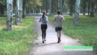 Супружеская утренняя пробежка