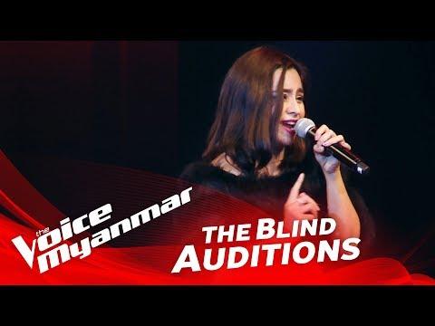 ခိုင္ၿမဲသစၥာ: Stand By Me - Blind Audition - The Voice Myanmar 2018