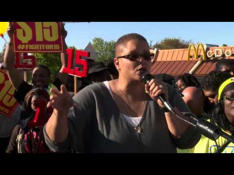 """""""McDonalds is a Symbol of What's Wrong With our Economy!"""" 