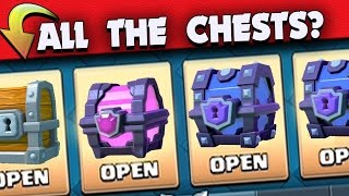 One of Beaker's Lab's most viewed videos: OPENING EVERY CHEST IN CLASH ROYALE! LEGENDARY CARD HUNTING