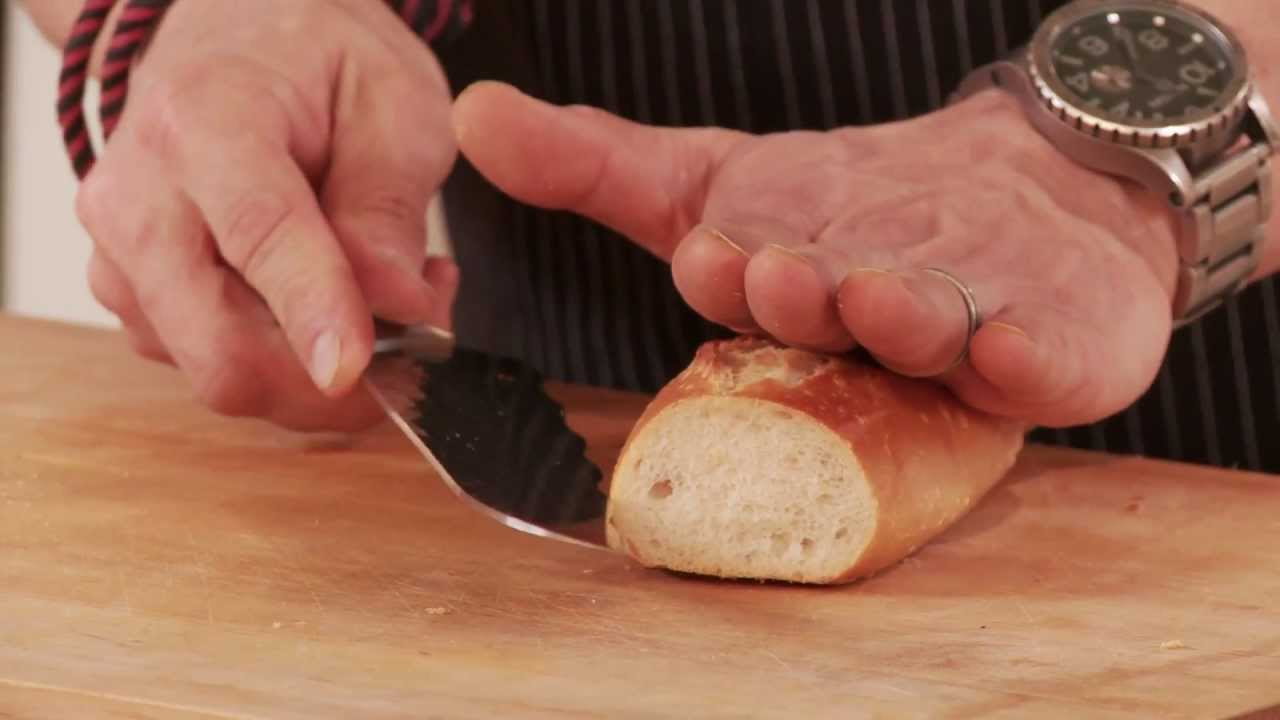 size 40 70f3c a8b12 Chris Cosentino - How to Use the Shun Edo Dual Density Utility Knife    Williams-Sonoma - YouTube