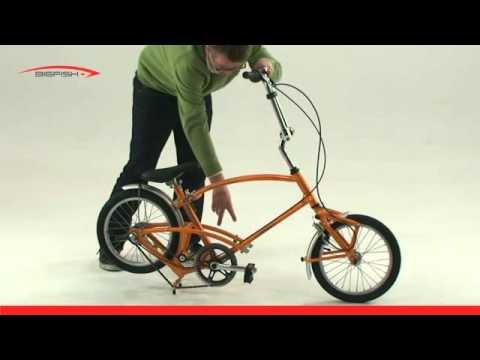 Bigfish Folding Bike Folding Instructions Youtube