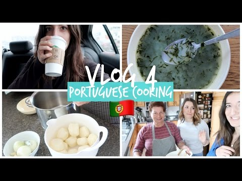 PORTUGUESE COOKING WITH MY GRANDMA w/HealthNutNutrition | VLOG FOUR