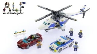 Lego City 60138 High Speed Chase - Lego Speed Build Review