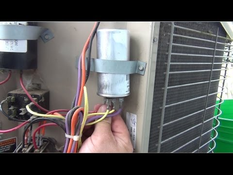 Ac Run Capacitor Wiring Diagram How To Fixing My Lennox Air Conditioner Fan Motor Not