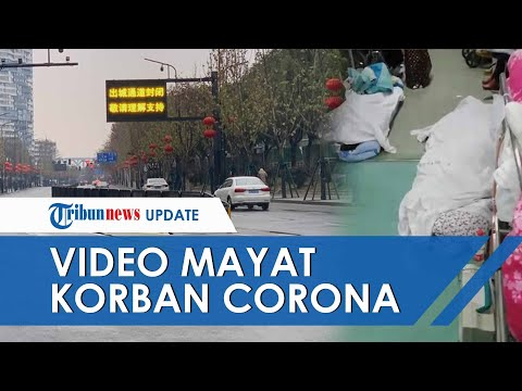 Beredar Video Mayat Diduga Korban Virus Corona Tergeletak Di Lantai RS, Jenazah Ditutup Kain Putih
