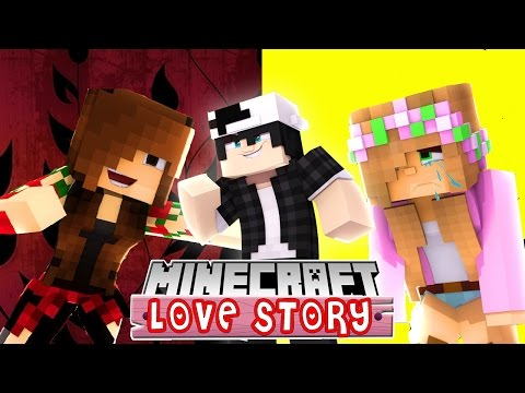 CAN RAVEN KEEP HIS EX GIRLFRIEND AWAY FROM LITTLE KELLY ? | MINECRAFT LOVE STORY roleplay - Видео из Майнкрафт (Minecraft)