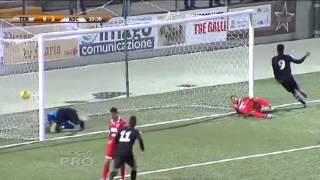 Coppa Italia Lega Pro, Teramo - Ascoli 1-3: il servizio