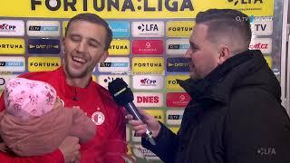 Souček proměnil penaltu: Věřil jsem, že gólman skočí