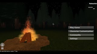 ROBLOX SAR Survival Apocalypse Reimagined - What it looks like? [06/October/2014]