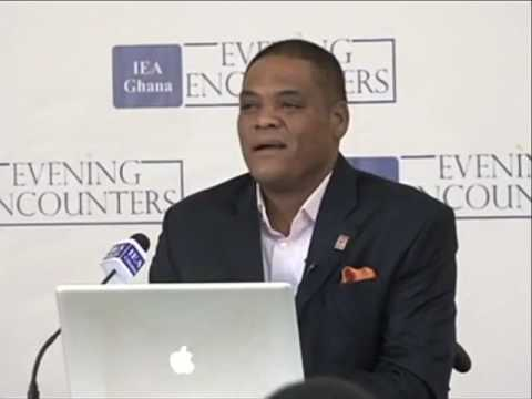 IEA Evening Encounter with Ivor Greenstreet - CPP Flagbearer