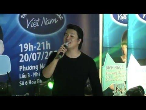 Vietnam Idol 2015 - Minishow Bích Ngọc - Tình về nơi đâu - Thanh Bùi