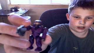Baixar Review of halo mega-bloks purple spartan and yellow elite pilot