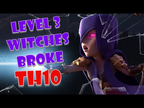 Frozen Witch Broke TH10 - BEST TH10 Attack Strategy In Clash Of Clans NOW!