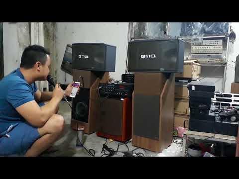 2tr5 Cả Bộ Karaoke Gia Dinh Ampli 203n + Loa Bmb Cs 450    0392861825