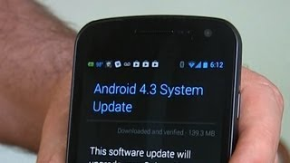 Galaxy Nexus gets Android 4.3 and TRIM