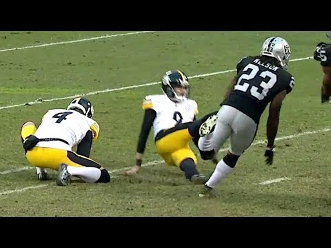 Chris Boswell Slips on Game-Tying Field Goal to Lose Game  NFL