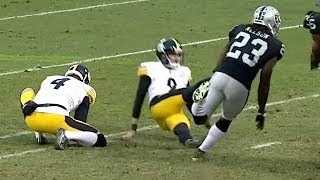 Chris Boswell Slips on Game-Tying Field Goal to Lose Game | NFL