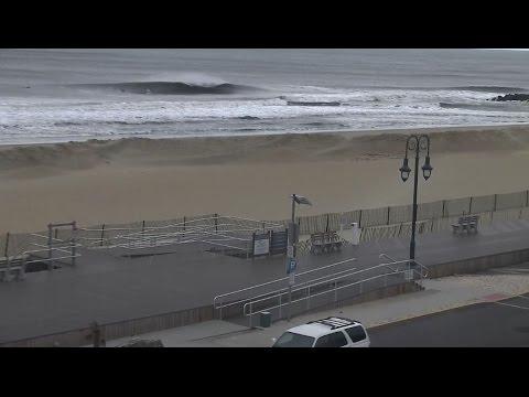 3-5ft + Belmar NJ Surf - Plenty of Peaks during March Swell