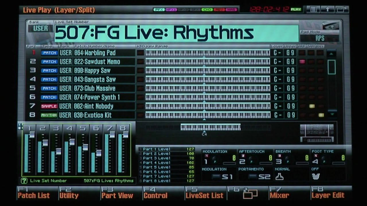 Free FG Connects Live Project For Roland Fantom-G – Synthtopia