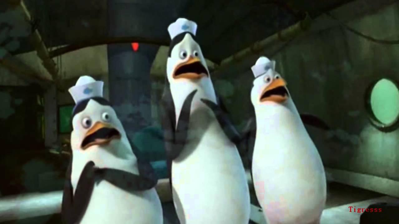 penguins of madagascar - monster (halloween vid^^) - youtube