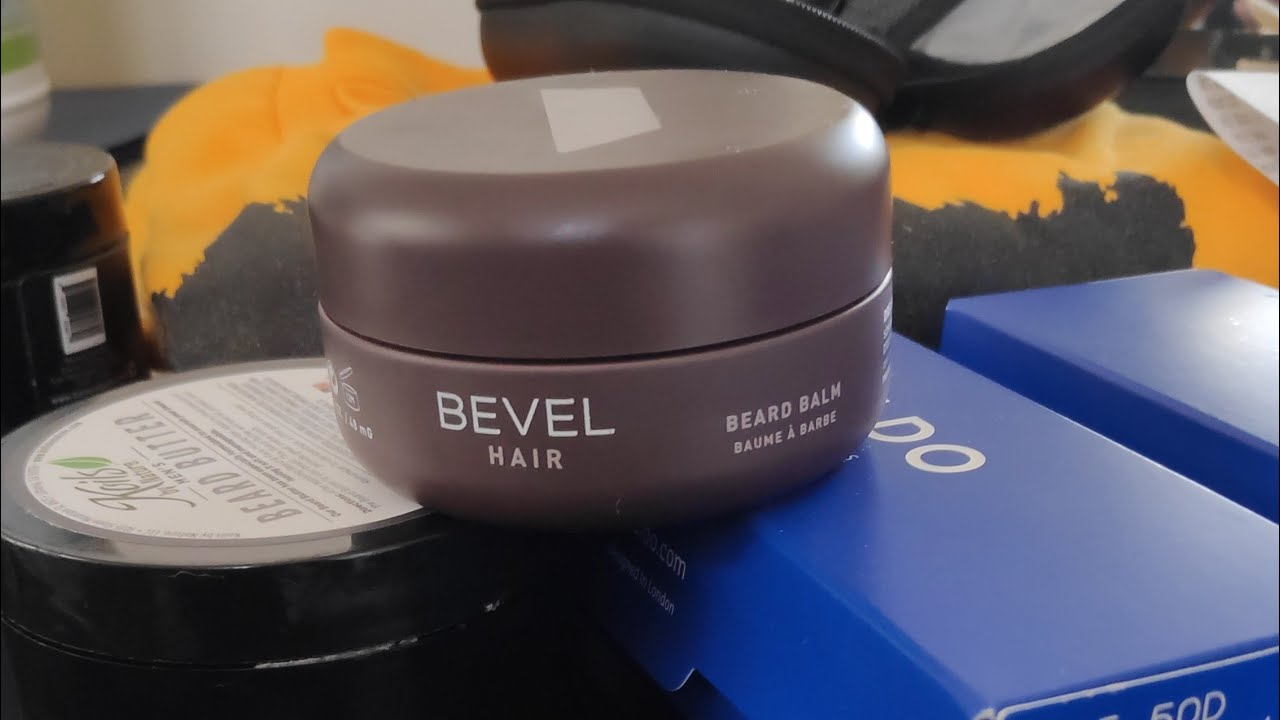 Bevel Beard Balm Initial Review