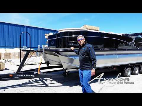 1) How to Prep Your Trailer for Your Pontoon Boat | 2017 Avalon Luxury Pontoons