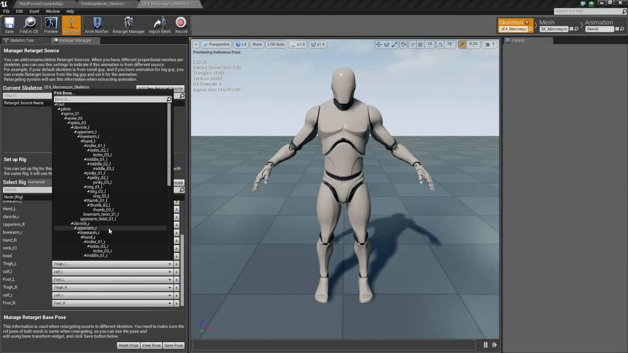 Unreal Engine 4 - Adding Animations - Import/Setup (Part 26)