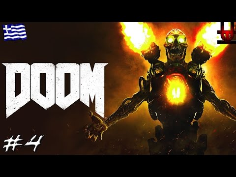 DOOM (2016) | Argent Energy Tower! (Greek Gameplay | Part 4)