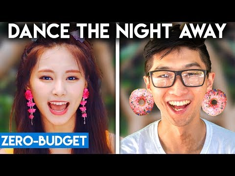 K-POP WITH ZERO BUDGET! (TWICE - Dance the Night Away) Mp3