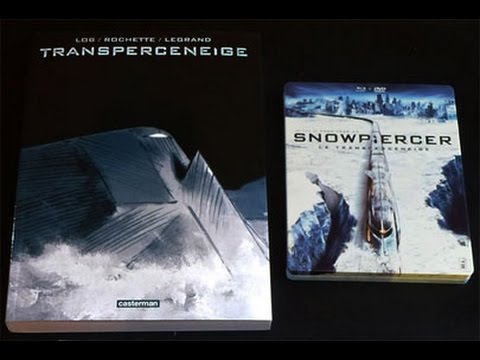Coffret édition collector Blu ray DVD Snowpiercer Transperceneige