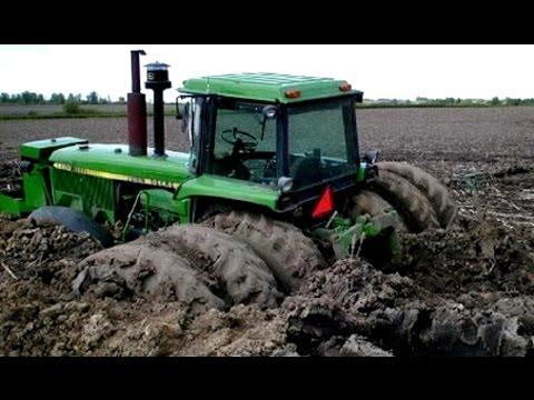 Tractors Stuck in