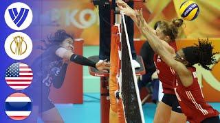 USA vs. Thailand - Full Match | Women's Volleyball World Championship 2018