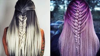 NEW Hair Color Transformation - 12 Amazing Beautiful Hairstyles Tutorial Compilation April 2018!