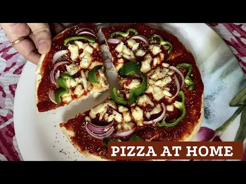 homemade-veg-pizza-|-microwave-pizza-|-how-to-make-pizza-at-home-|-pizza-recipe-|-readymade-base