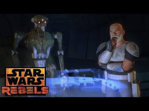 Clone, Droid, and Jedi | Star Wars Rebels | Disney XD